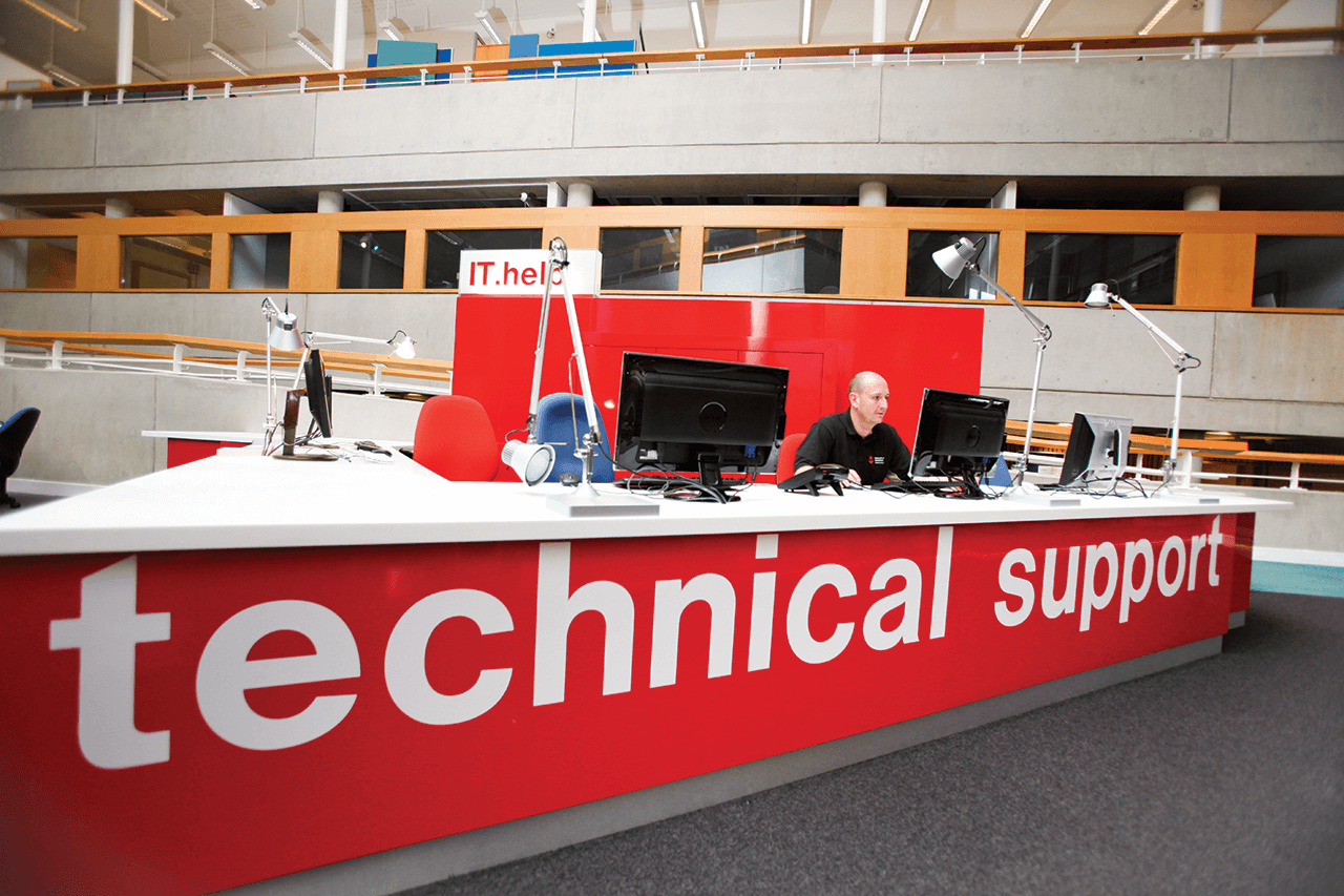 Image of our IT helpdesk