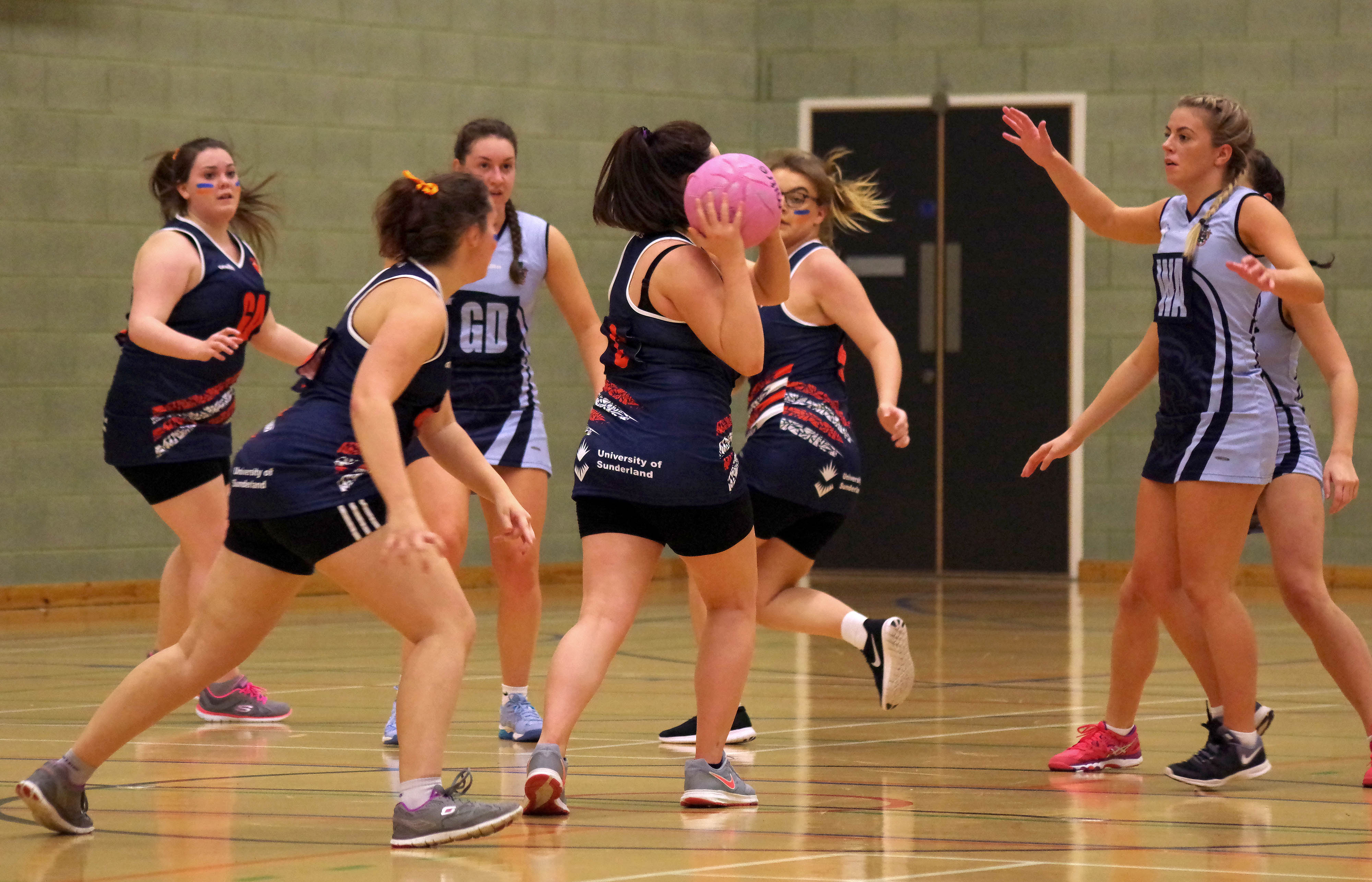 Clash of the Minsters netball