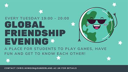 Global Friendship Evening advertisement